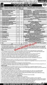 Walled City Lahore Jobs 2020