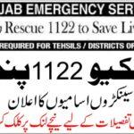 Rescue 1122 Jobs 2020 Punjab